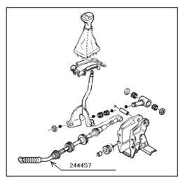 linka zmiany biegów JUMPER I/II ME (wybór) (oryginał Peugeot)