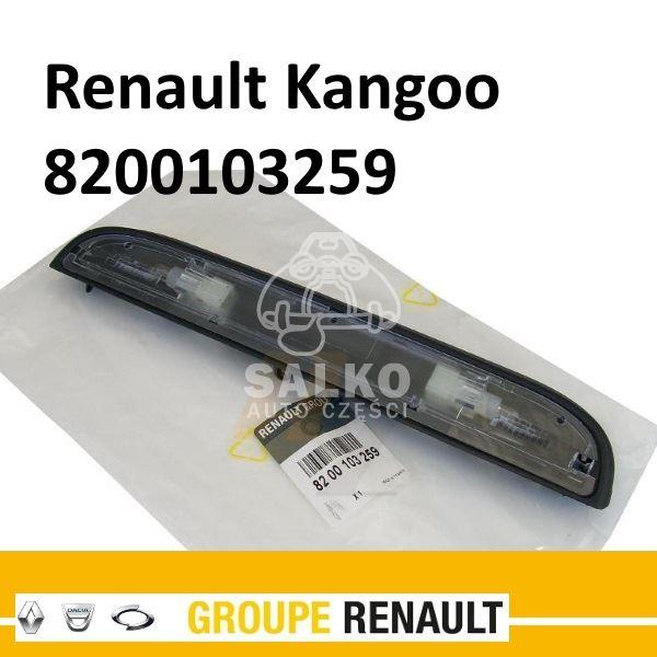 Lampka Oświetlenia Tablicy Rejestracyjnej Kangoo Oem Renault
