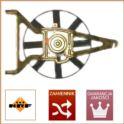 wentylator chłodnicy AX/106 1,0/1,1 W+T+S - zamiennik holenderski NRF