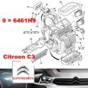 zawór klimatyzacji Citroen C2/ C3/ Peugeot 1007 rozprężny - oryginał Citroen