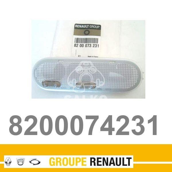 Lampka Oświetlenia Podsufitowego Renault Clio Ii Kangoo Oryginał Renault