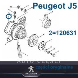 uszczelka pompy wody Citroen, Peugeot 2,5D/TD CRD (oryginał Peugeot)