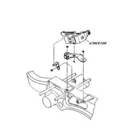 korektor siły hamowania Citroen BERLINGO FK600/N (oryginał Peugeot)