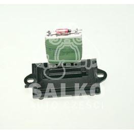 regulator nagrzewnicy - moduł Citroen C2/ C3/ Peugeot 1007... rezystor +AC (oryginał Citroen)