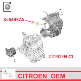 regulator nagrzew.moduł Citroen C1/ Peugeot 107 rezystor (oryginał Citroen)