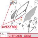spinka szyby Citroen/ Peugeot  mech/szyba - nowy oryginał PSA