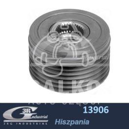 koło alternatora Citroen, Peugeot HDi 6PK/58,5mm ze sprzęgłem