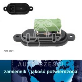 regulator nagrzewnicy - moduł Citroen JUMPER I/II rezystor +AC (nowy zamiennik)
