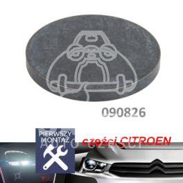płytka regulacji zaworu C/P/R/F 40,00x3,45mm (oryginał Citroen)