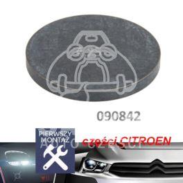płytka regulacji zaworu C/P/R/F 40,00x4,25mm (oryginał Citroen)