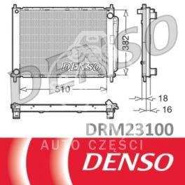 chłodnica CLIO III + skraplacz z osuszaczem - zestaw produkcji Denso