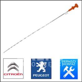 bagnet - miarka poziomu oleju Citroen, Peugeot 1,6/1,9 XU (oryginał Peugeot)