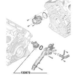 termostat Citroen, Peugeot, Renault 3,0-V6 ES9J4/Z7X 96- 82C (oryginał Peugeot)