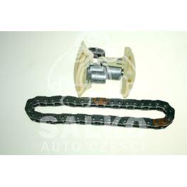 łańcuch rozrządu Citroen, Peugeot 1,6HDi DV6TED4 + ślizg (oryginał Peugeot)