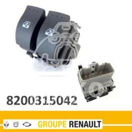 przełącznik podnoszenia szyby KANGOO lewy podw. bim/bim - oryginał Renault