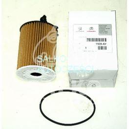 filtr oleju Citroen, Peugeot 2003- wkład DV... 1,4HDi/1,6HDi (oryginał Peugeot)
