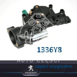 obudowa termostatu Citroen, Peugeot 1,4i TU3JP/TU3A podstawa (oryginał Peugeot)